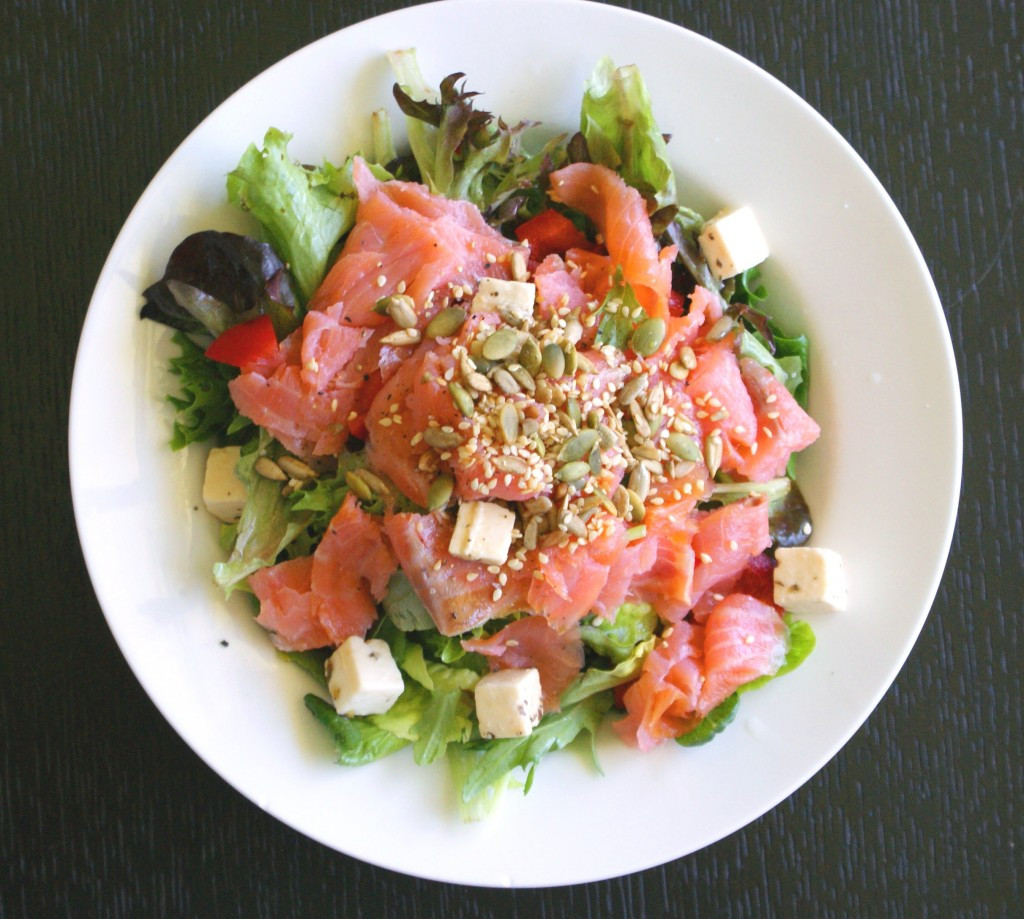 Smoked Salmon Salad Recipes Healthy  Smoked Salmon Salad