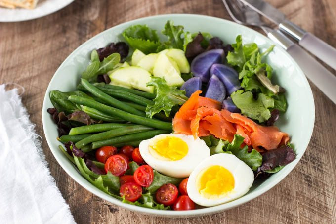 Smoked Salmon Salad Recipes Healthy  Smoked Salmon Niçoise Salad Simple Healthy Kitchen