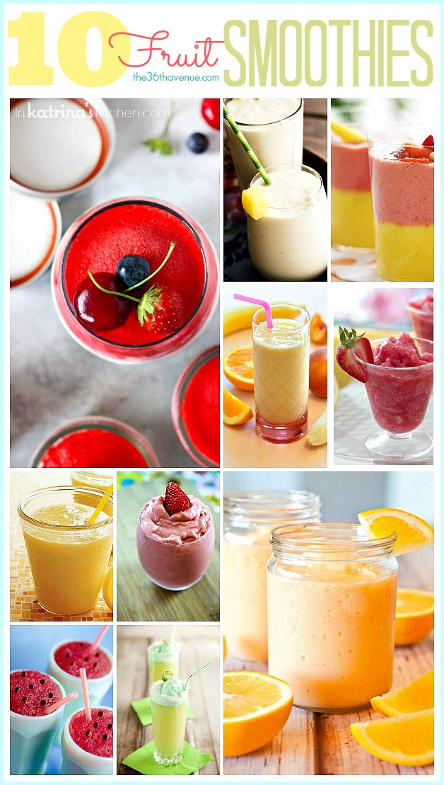 Smoothie Recipes Healthy  Smoothie Recipes