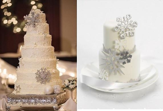 Snow Flake Wedding Cakes  Snowflake Wedding Cakes & Tutorials – Cake Geek Magazine