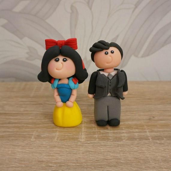 Snow White Wedding Cake Topper  Disney Wedding Cake Topper Snow White Cake Topper Disney