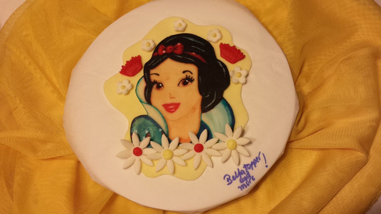 Snow White Wedding Cake Topper  Snow white cake topper Princess topper by Bellatopperandmore