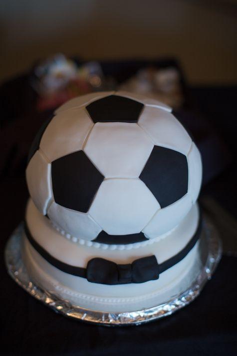 Soccer Wedding Cakes  Groom cake Soccer ball and Soccer on Pinterest
