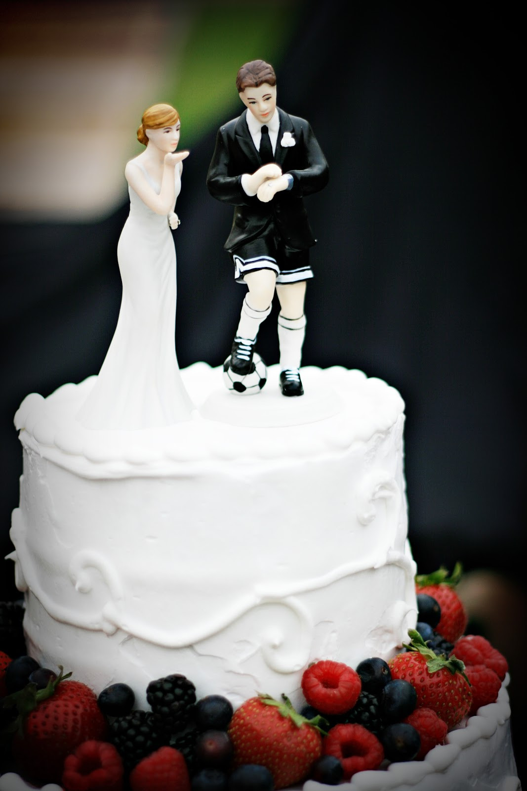 Soccer Wedding Cakes  Cakes By Kim A Soccer Players Wedding