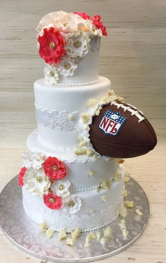 Soccer Wedding Cakes  The Cake Zone Rated top 3 Florida s Best Bakeries