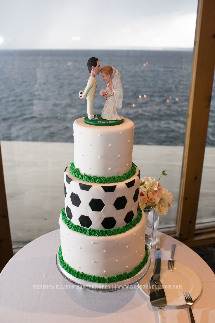 Soccer Wedding Cakes  25 best ideas about Soccer Wedding on Pinterest