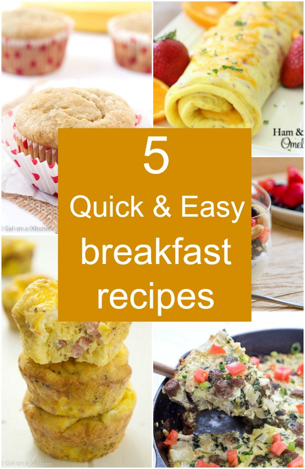 Something Healthy To Eat For Breakfast  5 Quick Breakfast Options Coffee Confessions Gal on a