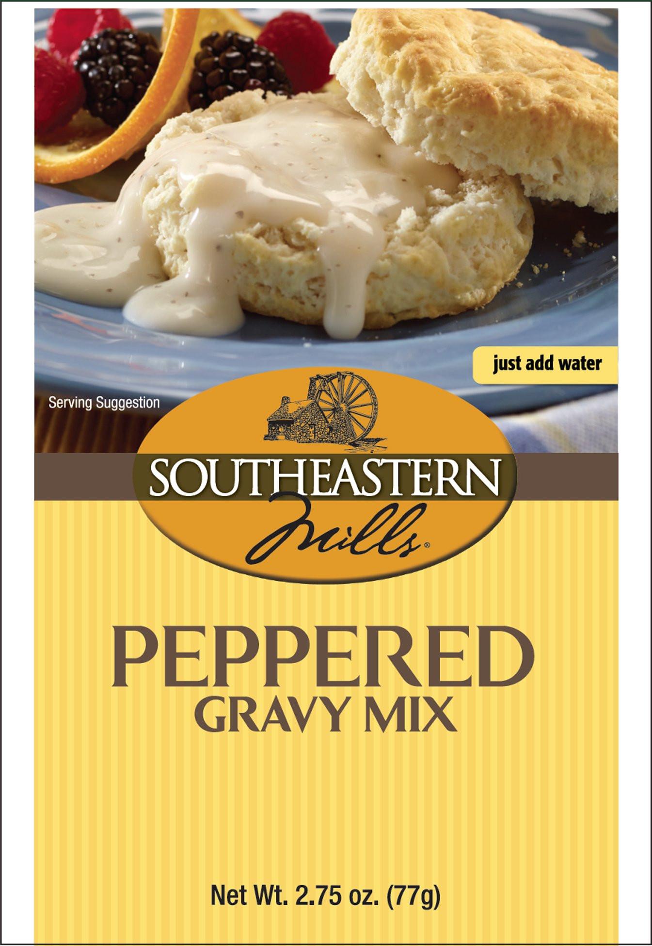 Southeastern Mills Peppered Gravy Mix  Amazon Southeastern Mills Country Gravy Mix 2 75