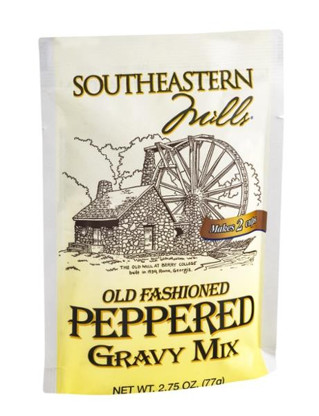 Southeastern Mills Peppered Gravy Mix  Southeastern Mills Old Fashioned Peppered Gravy Mix