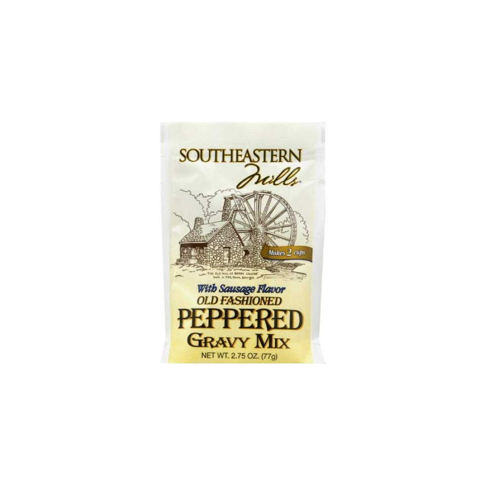 Southeastern Mills Peppered Gravy Mix  Southeastern Mills Old Fashioned Peppered Gravy Mix With