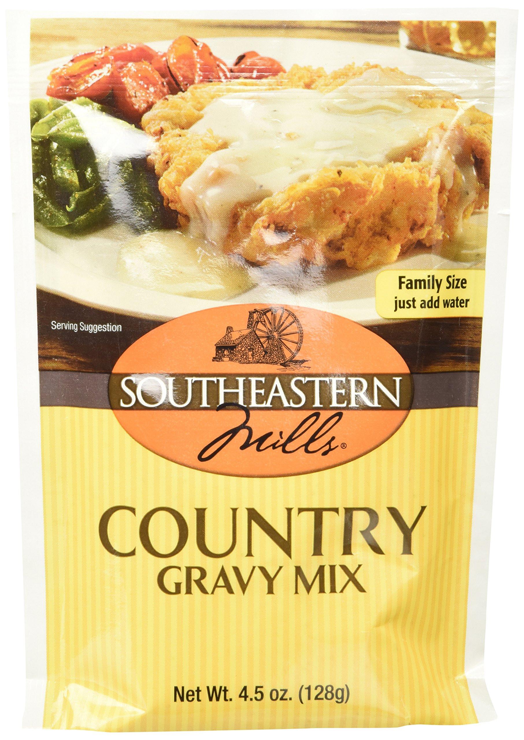 Southeastern Mills Peppered Gravy Mix  Amazon Southeastern Mills Gravy Mix Peppered 4 5