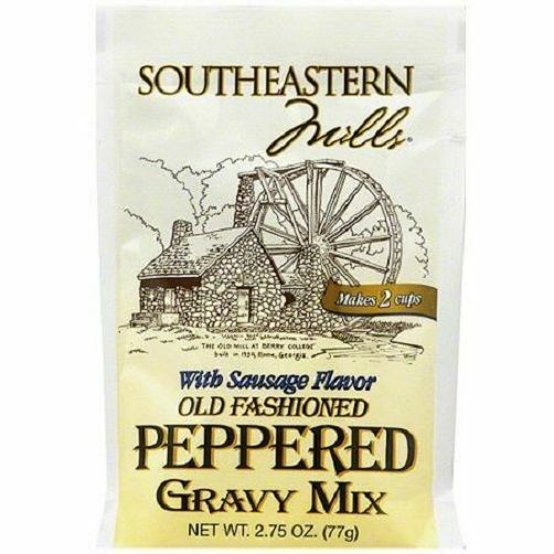 Southeastern Mills Peppered Gravy Mix  Southeastern Mills Old Fashioned Peppered Gravy Mix Packet