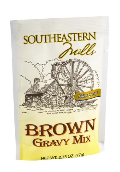 Southeastern Mills Peppered Gravy Mix  Southeastern Mills Brown Gravy Mix