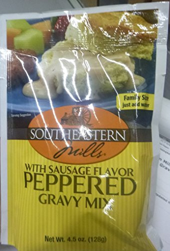 Southeastern Mills Peppered Gravy Mix  Southeastern Mills Old Fashioned Peppered Gravy Mix 4 5
