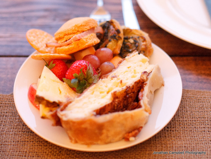 Southern Appetizers For Wedding  A Vintage Southern Wedding Family Style