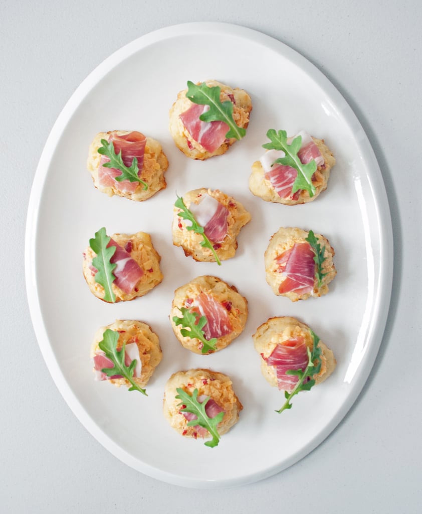 Southern Appetizers For Wedding  Pimento Cheese and Prosciutto Biscuits