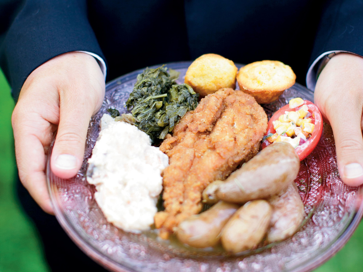 Southern Appetizers For Wedding  Wedding Food in the South Southern Living