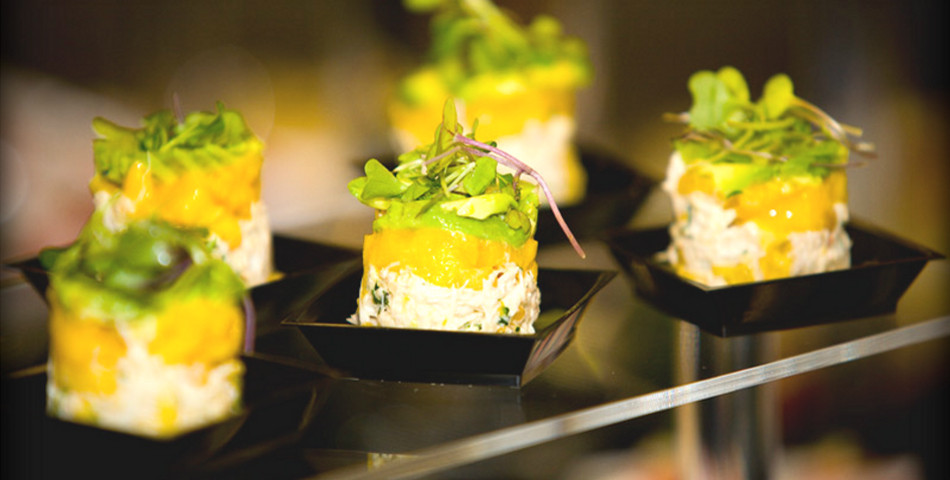 Southern Appetizers For Wedding  Southern Hospitality Catering Coronado Caterer