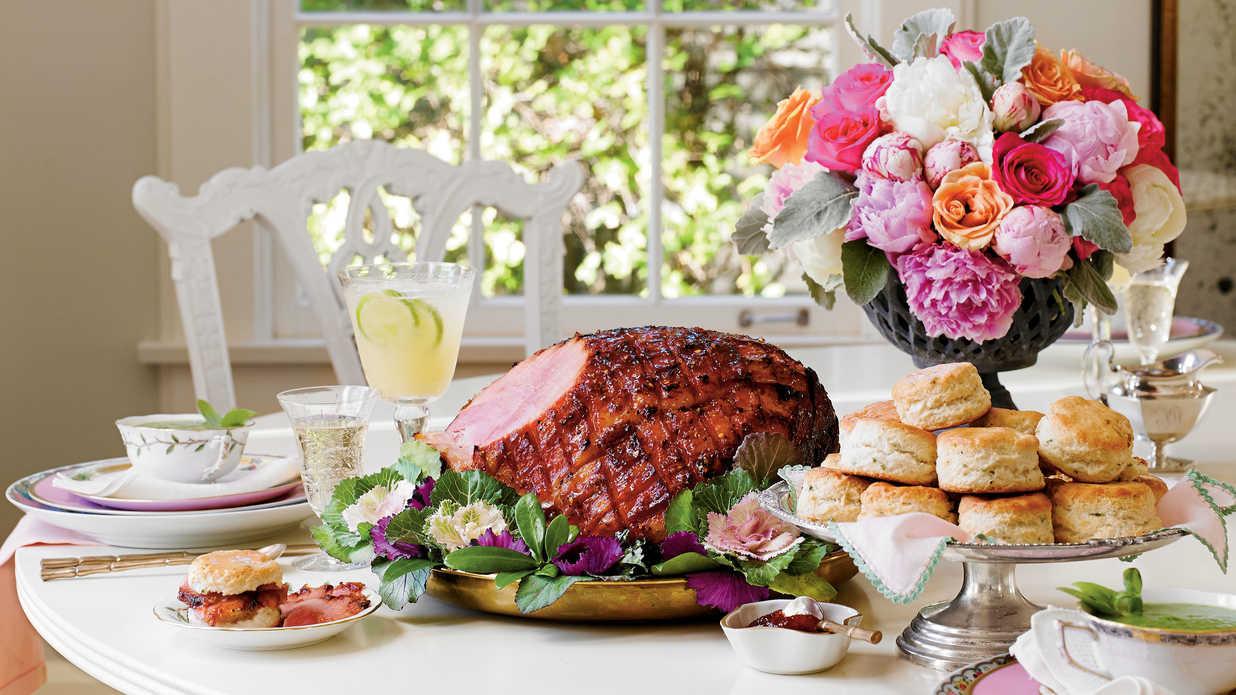 Southern Easter Dinner  Easter Brunch Menu Southern Living