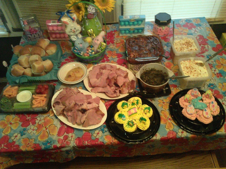 Southern Easter Dinner  Easter Dinner Southern Style Holiday ideas