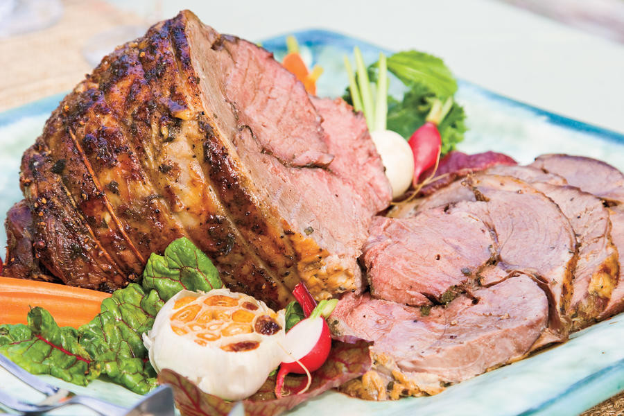 Southern Easter Dinner  Roasted Lamb Traditional Easter Dinner Recipes
