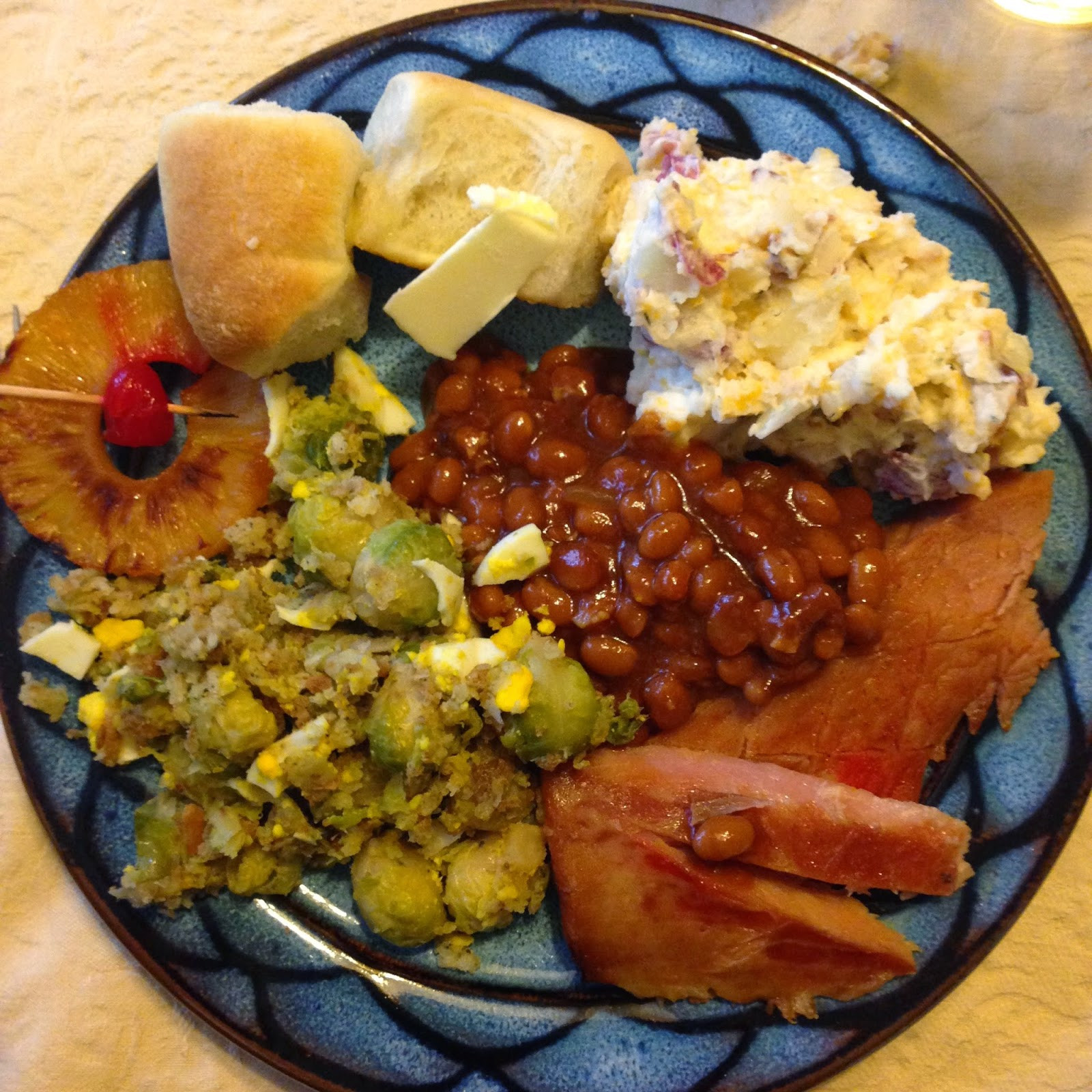Southern Easter Dinner  The Southern Bostonian May 2015