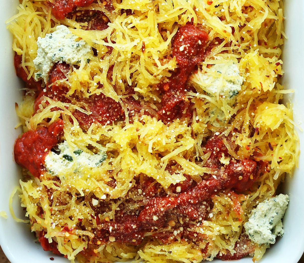 Spaghetti Squash Healthy  recipe – You Bet Your Pierogi