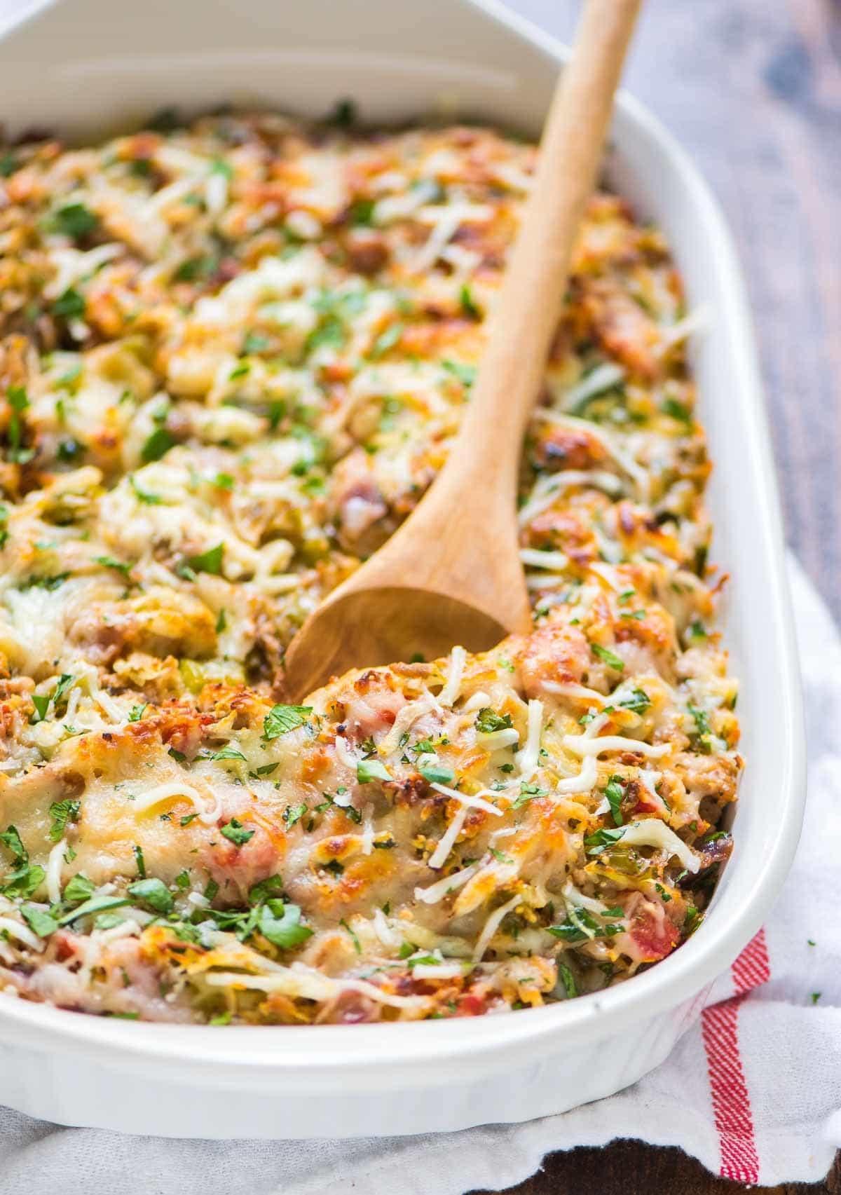 Spaghetti Squash Healthy Recipes  Spaghetti Squash Casserole