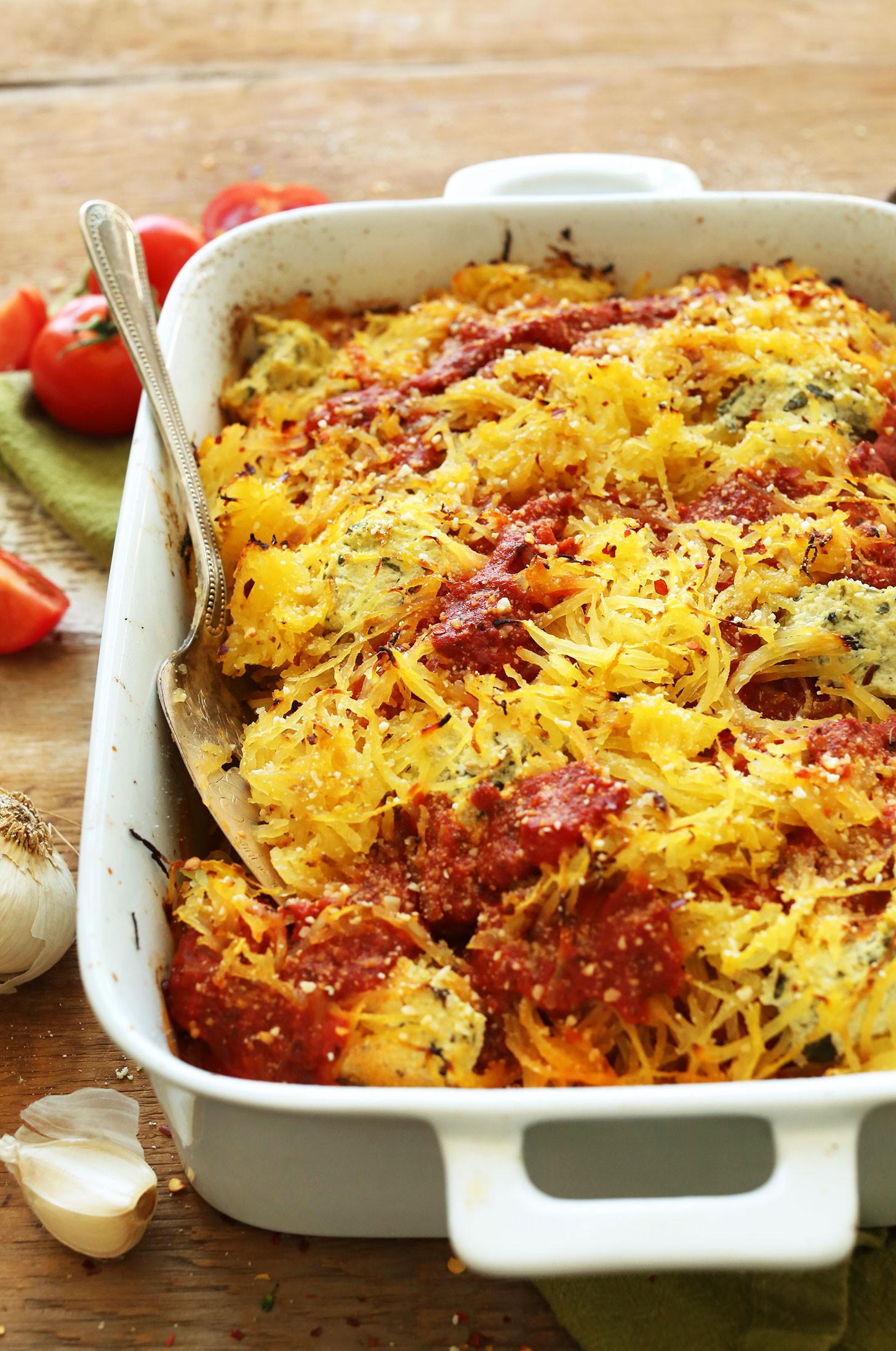 Spaghetti Squash Healthy Recipes  Spaghetti Squash Lasagna