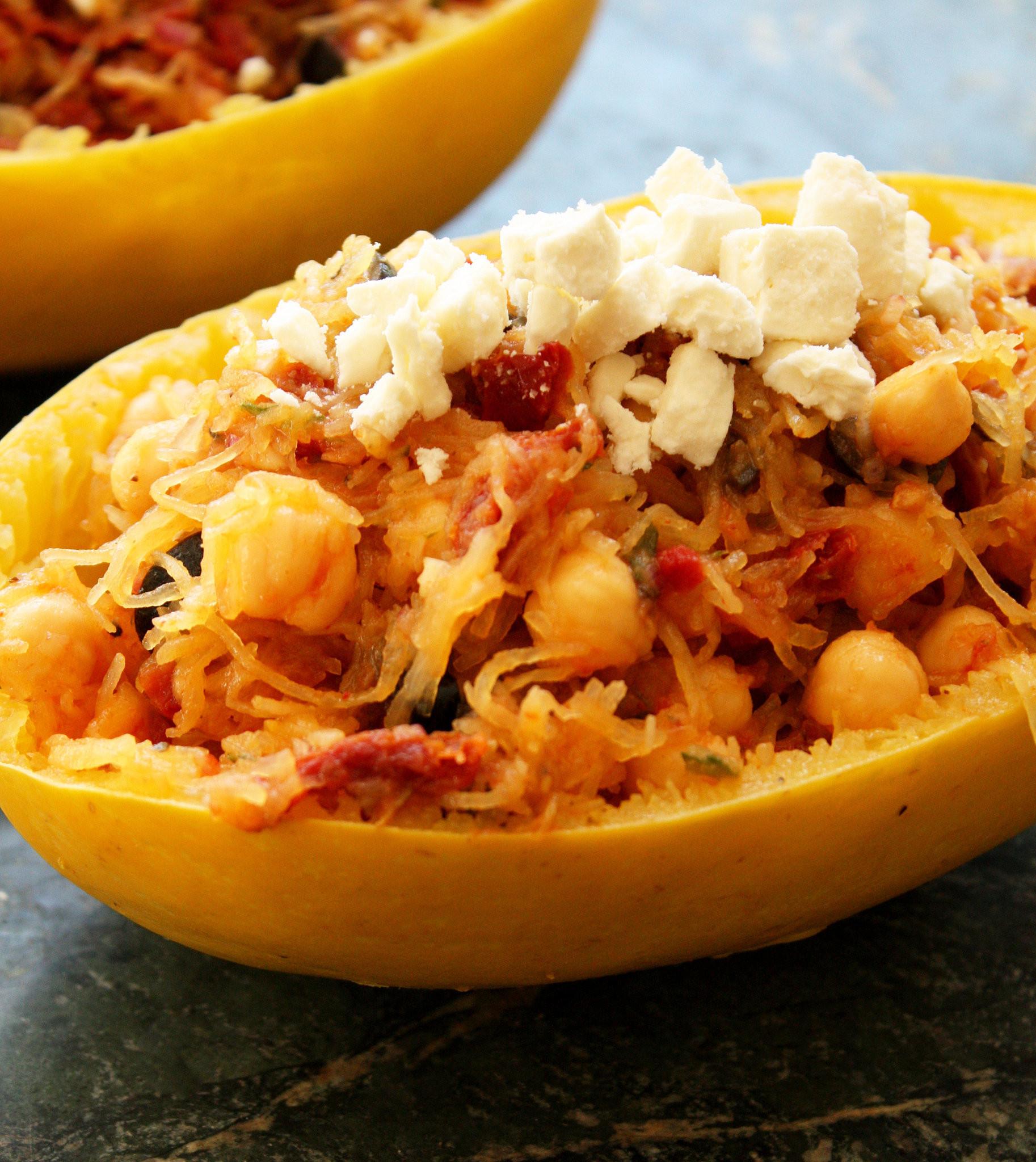 Spaghetti Squash Healthy Recipes  Healthy Spaghetti Squash Meal Recipes
