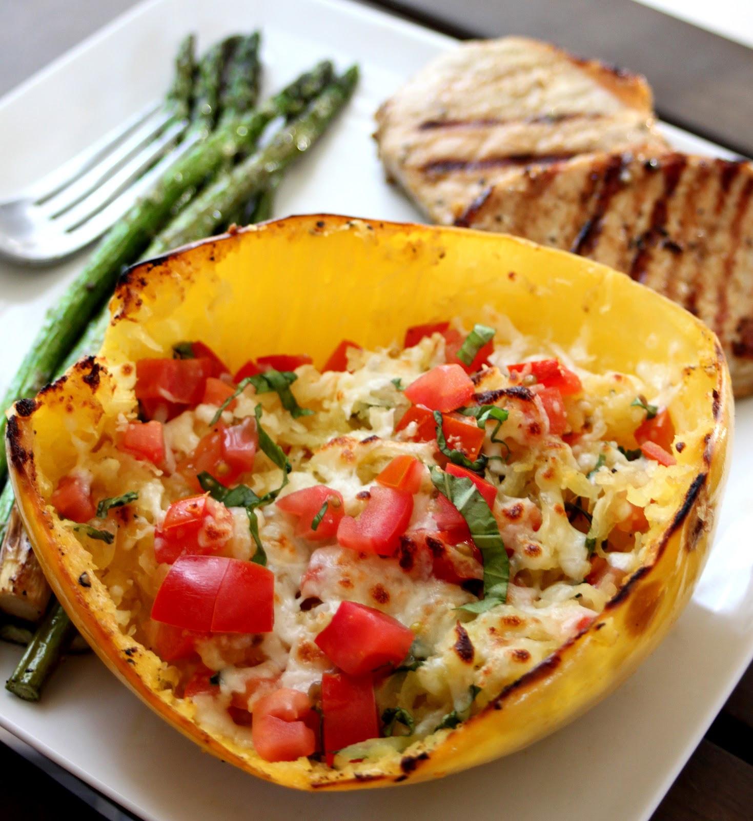 Spaghetti Squash Healthy  Phoenix Family Foo Blog Gluten Free Goodness Baked