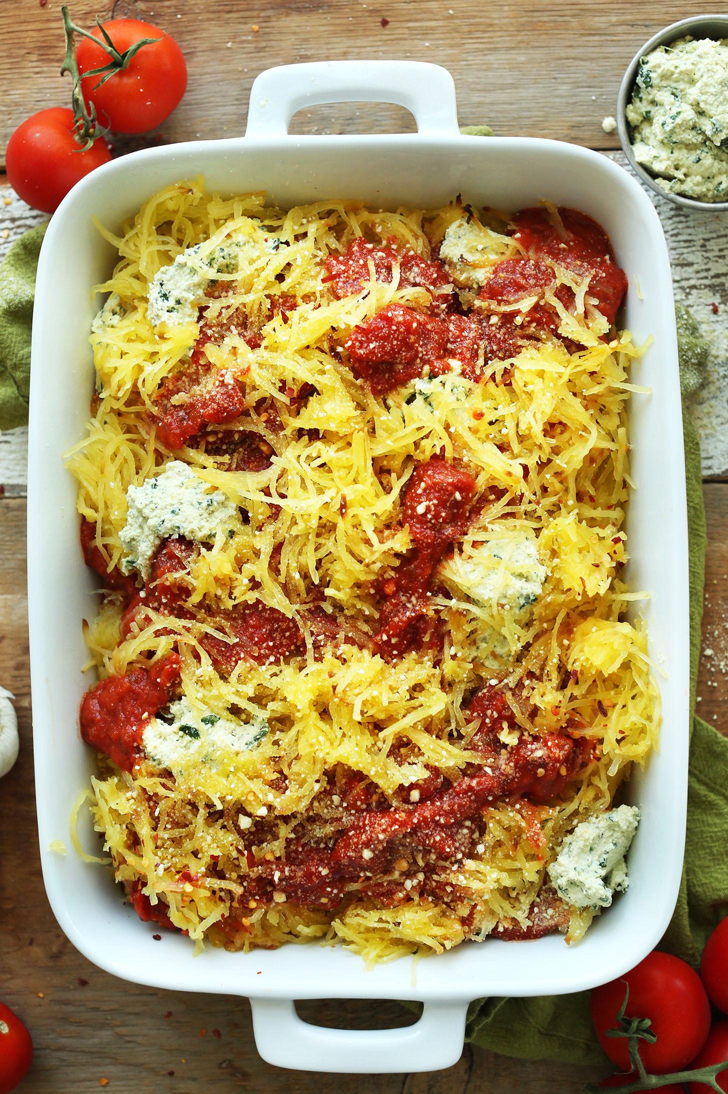 Spaghetti Squash Recipes Healthy  Spaghetti Squash Lasagna