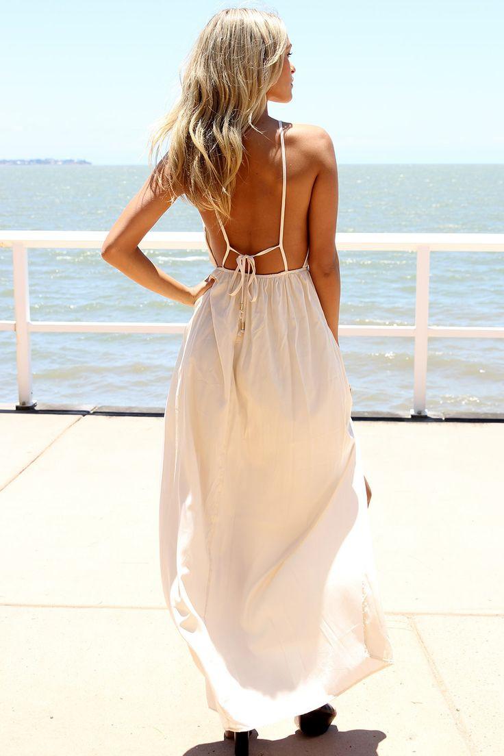 Spaghetti Strap Summer Dress  I ll Have Spaghetti Please