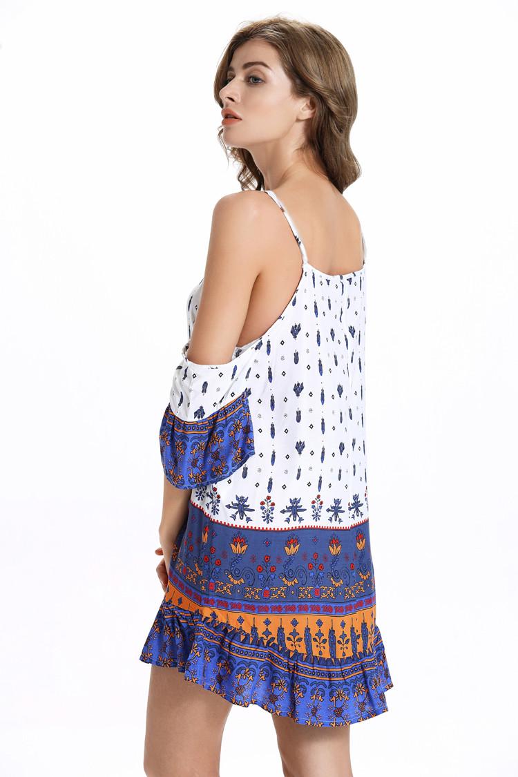 Spaghetti Strap Summer Dress  Modern Spaghetti Strap 2017 Summer Women Dress Short f