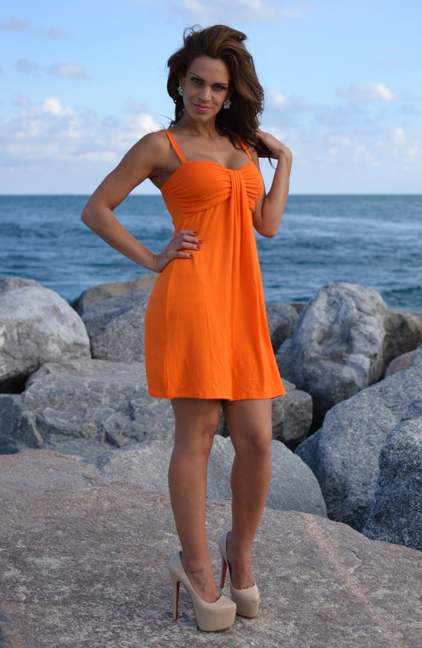 Spaghetti Strap Summer Dress  Trendy Spaghetti Strapped Short or Long Summer Outfit