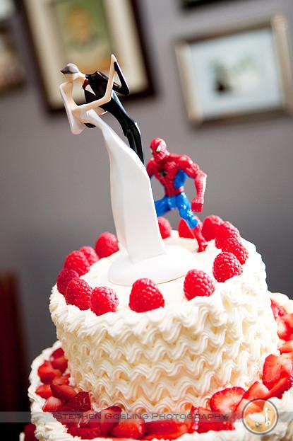 Spiderman Wedding Cakes  Spiderman Wedding Cake