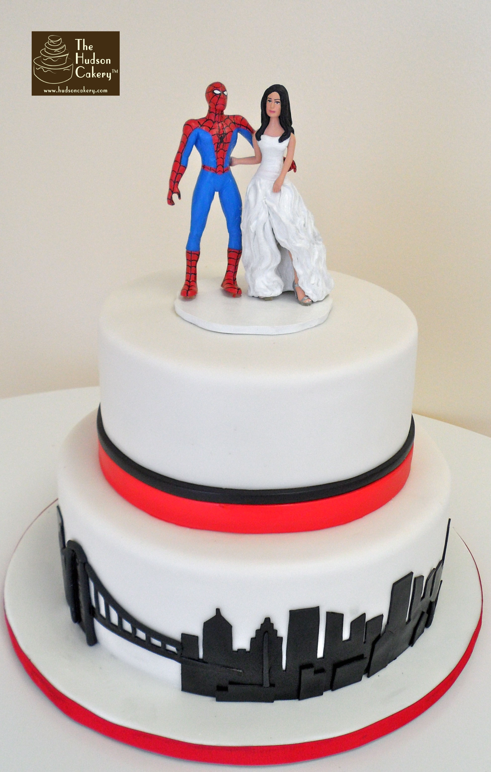 Spiderman Wedding Cakes  wedding cake toppers Initials For Wedding Cake Toppers