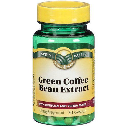 Spring Valley Organic Greens  Spring Valley Svetol Green Coffee Bean plus Yerba Mate