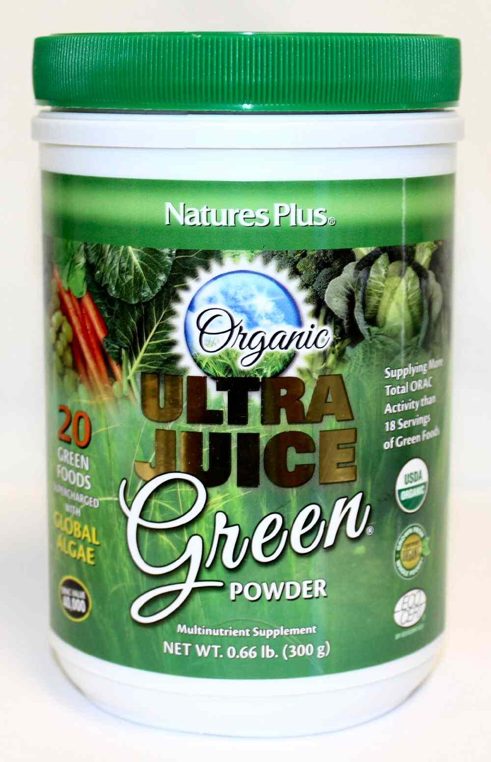Spring Valley Organic Greens  Natures Plus Organic Ultra Juice Green Powder Spring