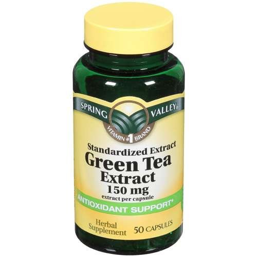 Spring Valley Organic Greens  Spring Valley Green Tea Extract Herbal