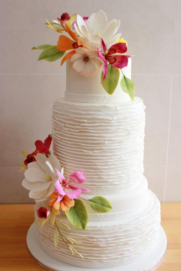 Spring Wedding Cakes  Top 15 Spring Wedding Cake – Unique Ceremony With Bakery