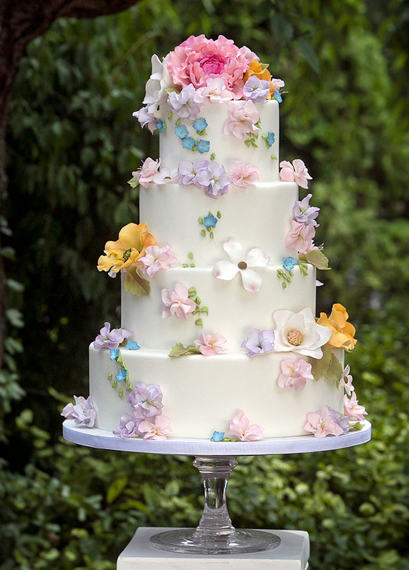Spring Wedding Cakes  Top 15 Wedding Cake Designs For Spring – Cheap Easy