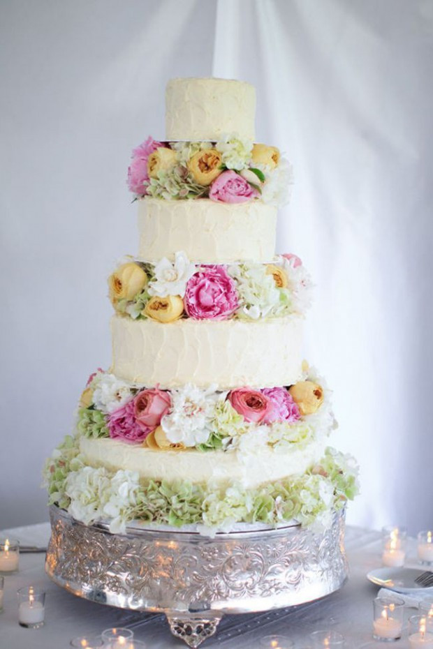 Spring Wedding Cakes  15 Lovely Spring Wedding Cake Decorating Ideas Style