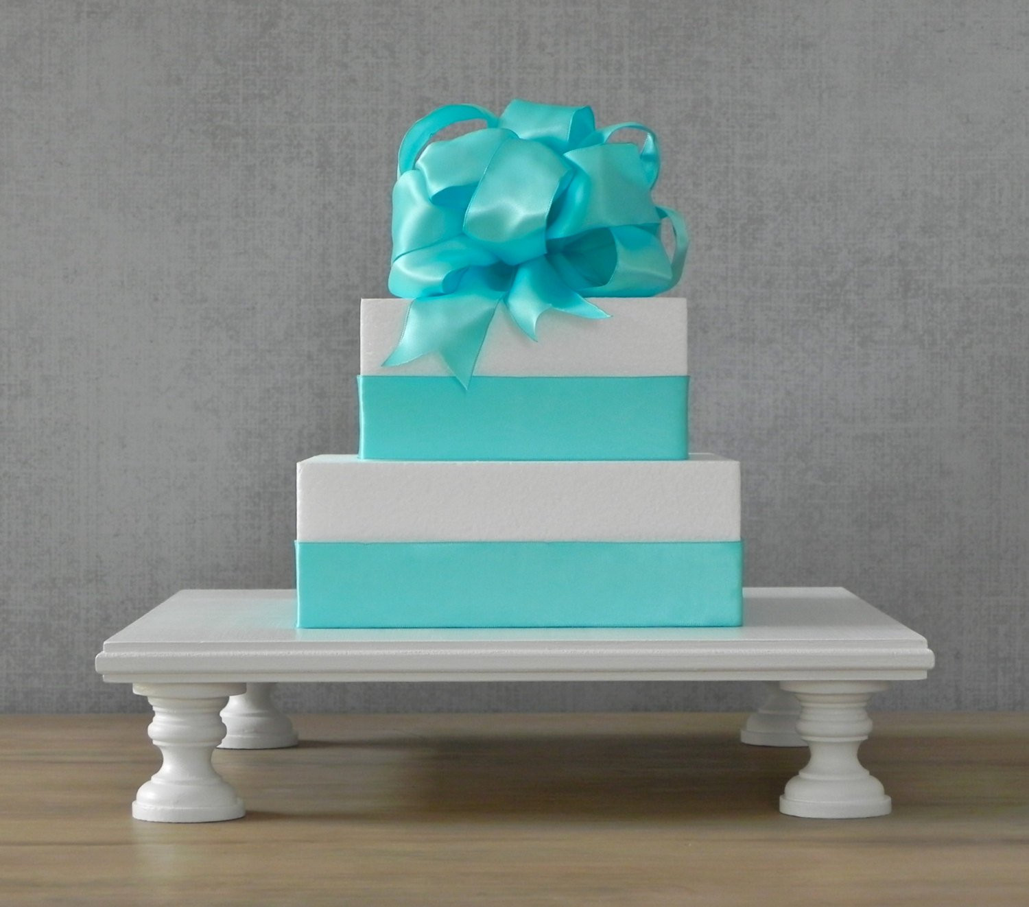 Square Cake Stand For Wedding Cakes  14 Cake Stand Cupcake Stand Square Wedding Cake Stand