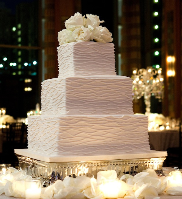 Square Wedding Cakes Pictures  Simple Square Wedding Cakes Wedding and Bridal Inspiration