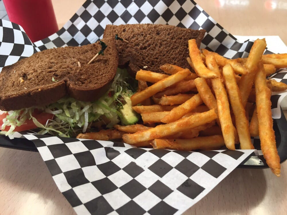 Squaw Bread Healthy  Chicken Avocado Healthy sandwich on Squaw Bread Seasoned