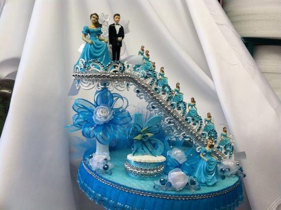 Staircase Wedding Cakes  Wedding Bridal Staircase Cake Decorations Centerpiece