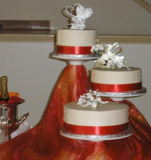 Staircase Wedding Cakes  Staircase Wedding Cake