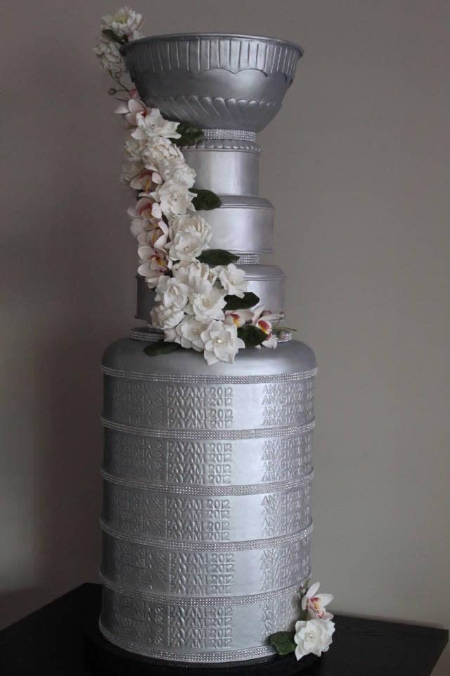 Stanley Cup Wedding Cakes  Stanley Cup Wedding Cake Need some advice CakesDecor