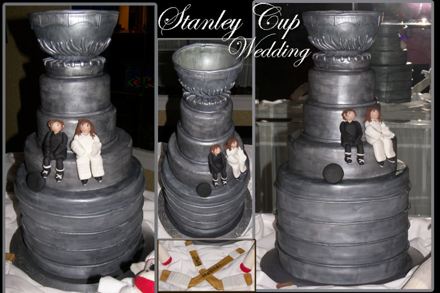 Stanley Cup Wedding Cakes  Stanley Cup Wedding Cake CakeCentral